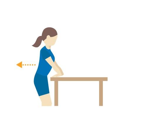 کشش عضلات داخلی بازو